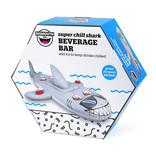 big mouth Floating shark beverage bar