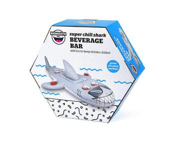 Floating shark beverage bar