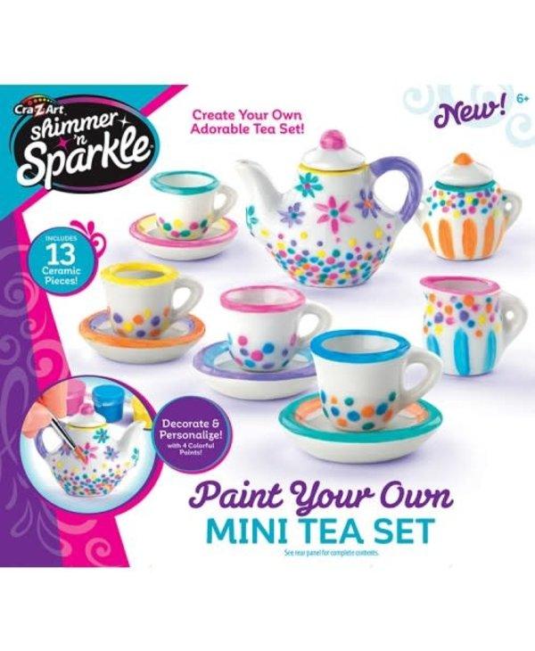 Mini Tea Set Painting Set