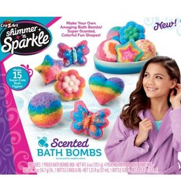 Scented Bath Bombs Kit