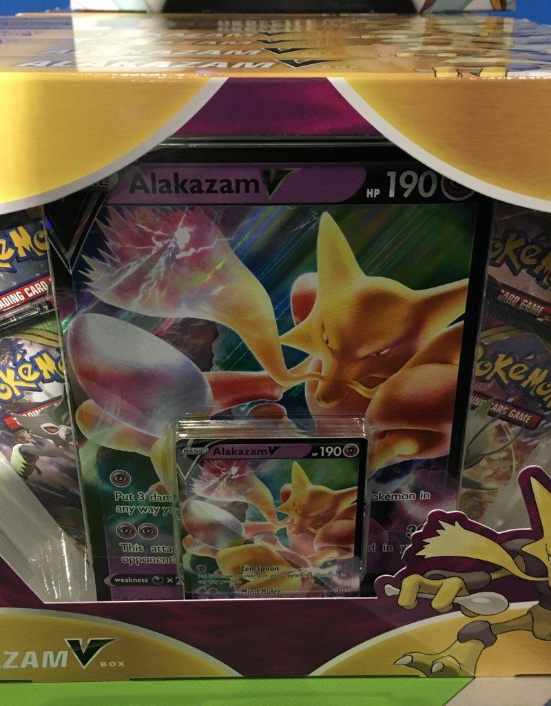 Pokemon Alakazm V Box