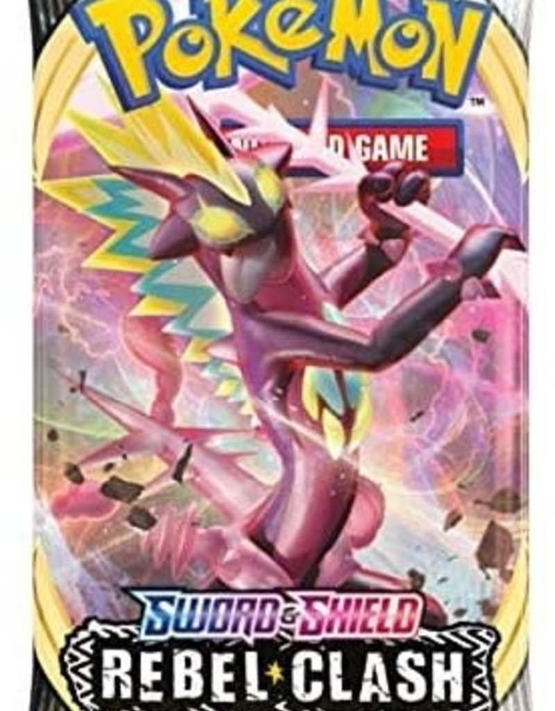 Pokemon Sword & Shield 2 Rebel Clash Booster Pack