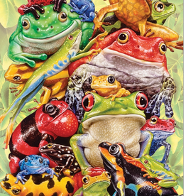 Cobble Hill Frog Pile 350 piece family puzzle