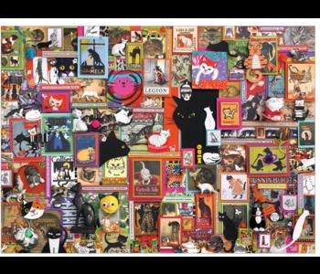 Catsville 1000 piece puzzle