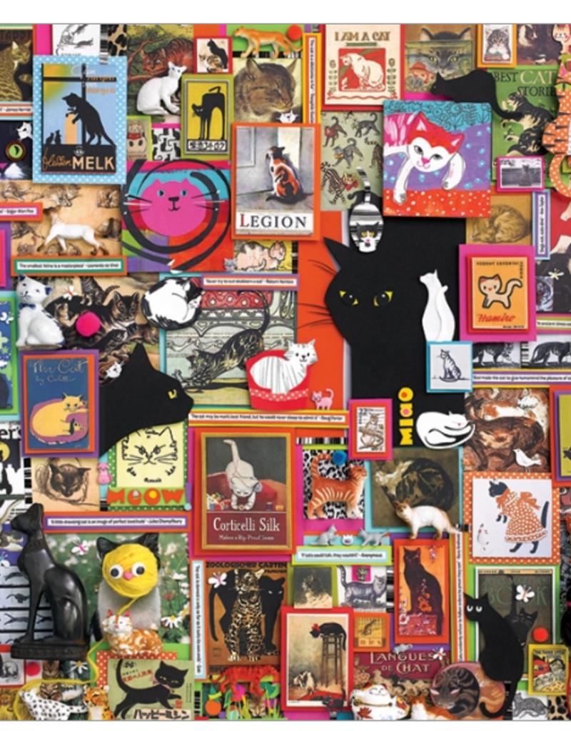 Cobble Hill Catsville 1000 piece puzzle