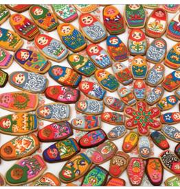 Cobble Hill Matryoshka Cookies 1000 piece