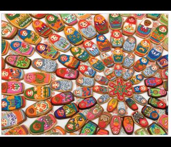 Matryoshka Cookies 1000 piece