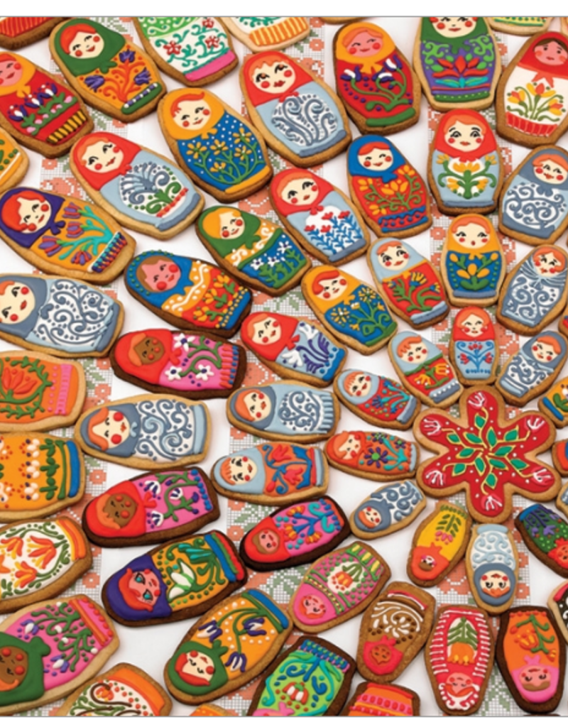 Cobble Hill Matryoshka Cookies 1000 piece