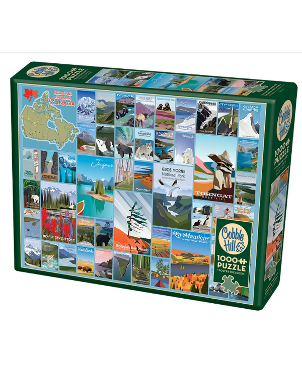 National Parks and Reserves Canada 1000 piece