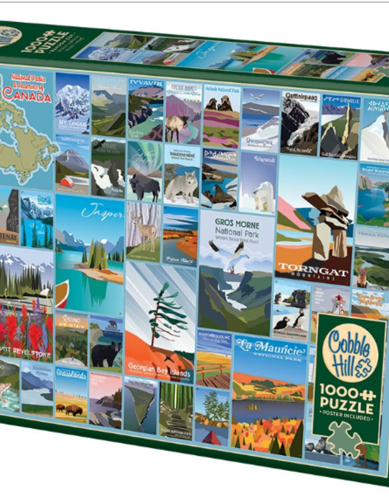 Cobble Hill National Parks and Reserves Canada 1000 piece