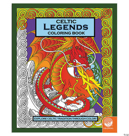 Celtic Legends Colouring Book