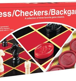 Chess-checkers-backgammon 3 games in one