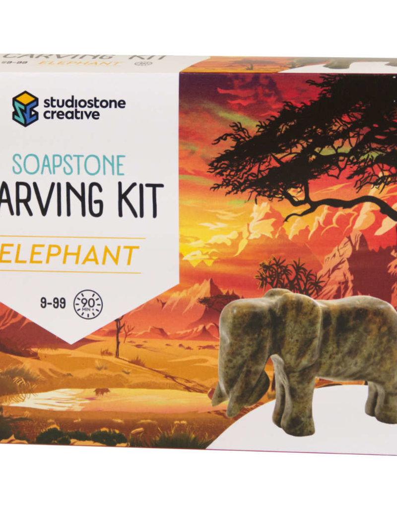 Studiostone Creative Soap Stone Carving Kit