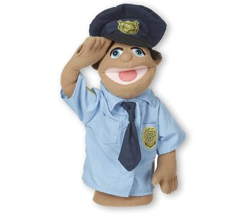 Puppet Police Officer