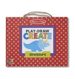 Melissa & Doug Reusable Drawing and Magnet Kit Play, Draw, Create - Dinosaurs