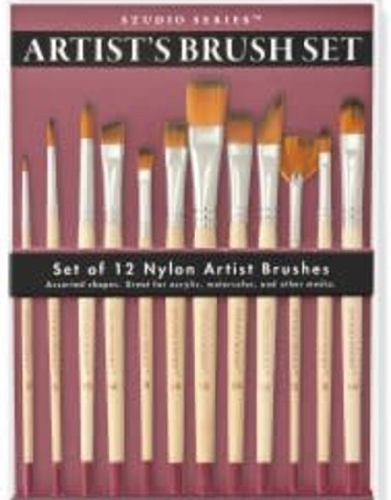 Peter Pauper Artist's Paintbrush Set