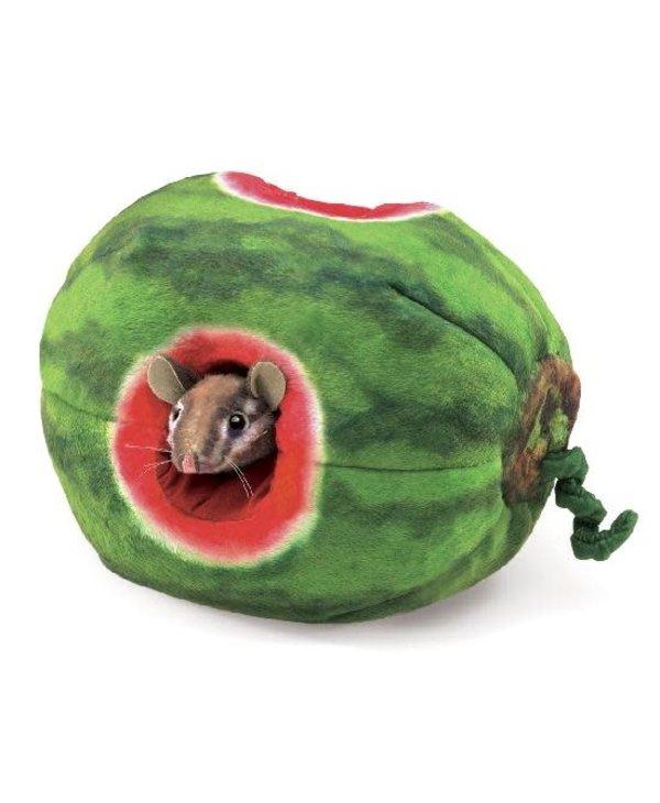 Chipmunk In Watermelon Puppet
