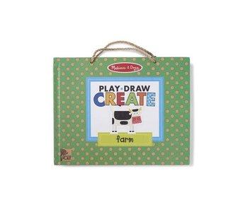 Reusable Drawing & Magnet Kit Farm