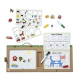 Melissa & Doug Reusable Drawing & Magnet Kit Farm