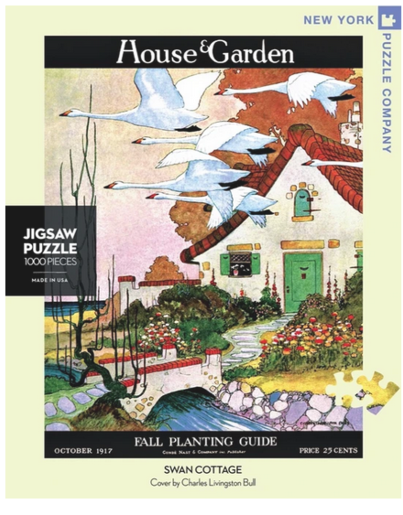 New York Puzzle Company Swan Cottage