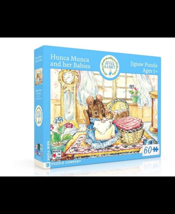 Peter Rabbit Hunca Munca & Her Babies 60 piece puzzle