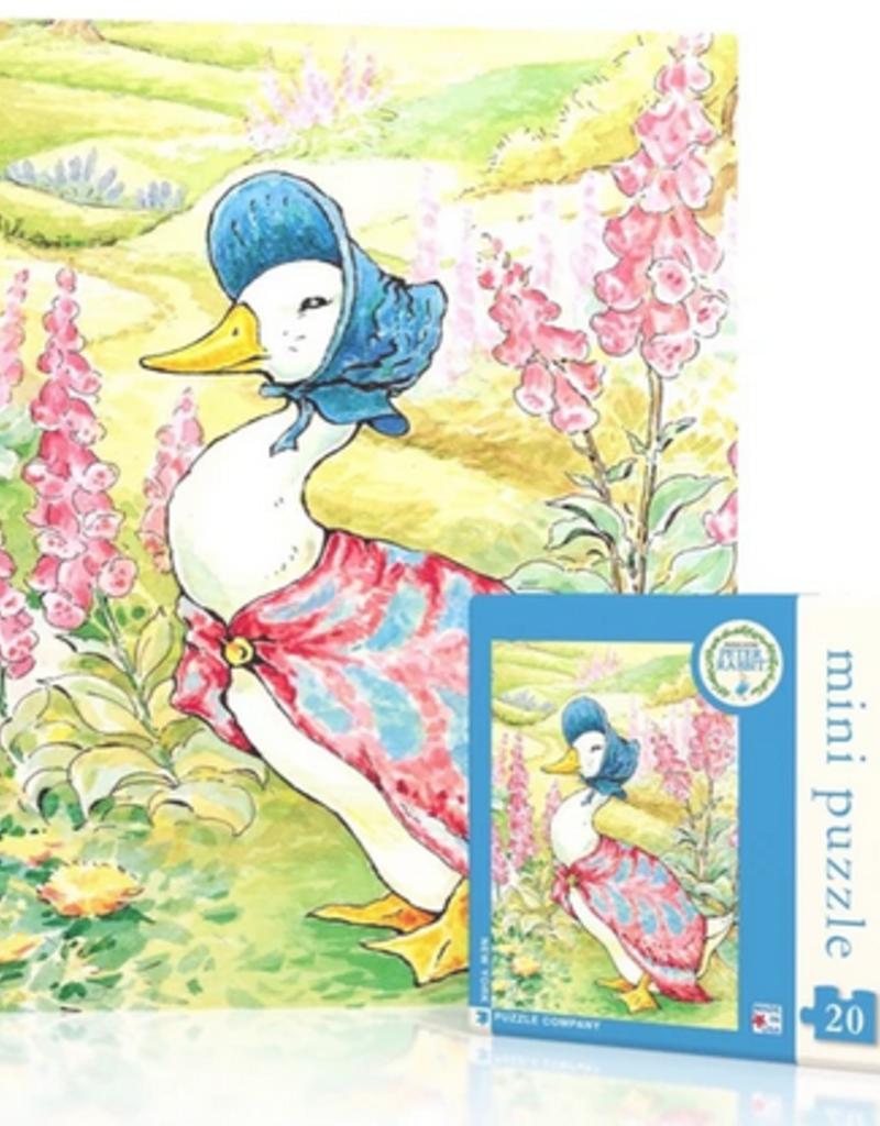 New York Puzzle Company Jemma Puddle Duck Mini 20 piece puzzle