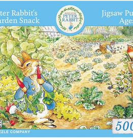 New York Puzzle Company Peter Rabbits Garden Snack 500 piece puzzle