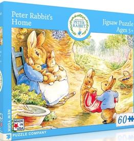 New York Puzzle Company Peter Rabbit's Home 60 piece puzzle