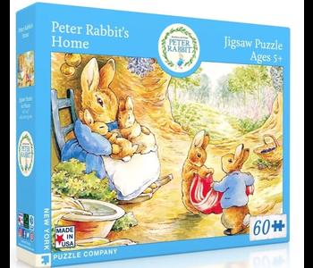 Peter Rabbit's Home 60 piece puzzle