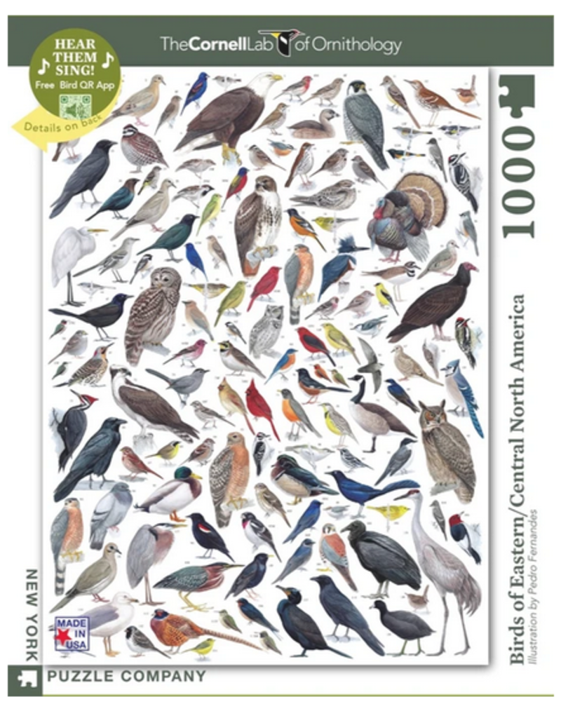 New York Puzzle Company Birds of Eastern/Central North America
