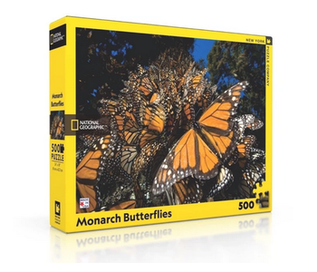 Monarch Butterfiles 500 piece puzzle National Geographic