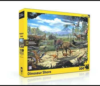 Dinosaur Shore 200 piece puzzle