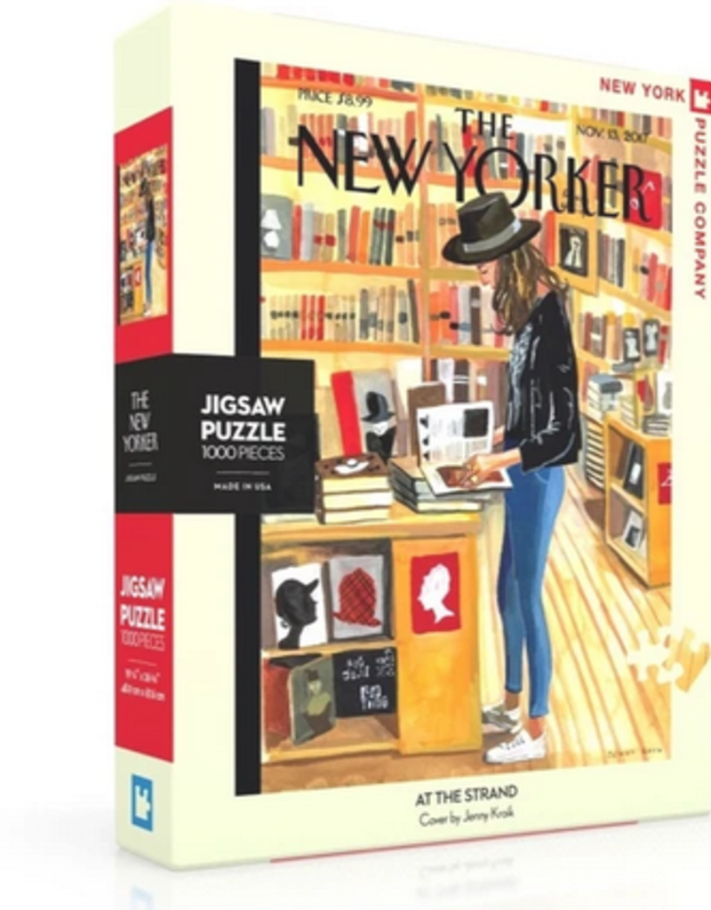 New York Puzzle Company At The Strand 1000 Piece Puzzle