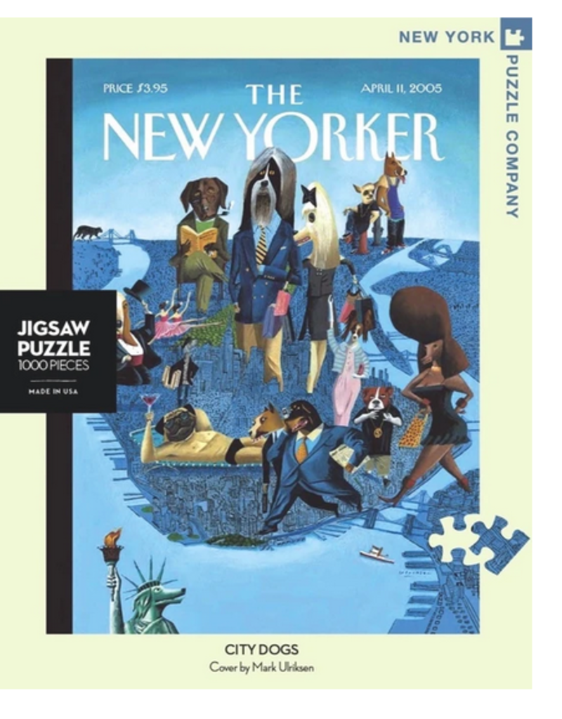 New York Puzzle Company City Dogs 1000 Piece Puzzle