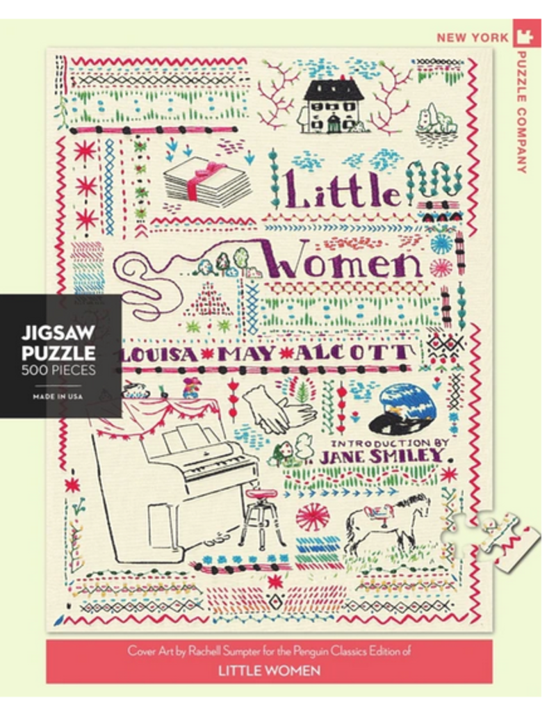 New York Puzzle Company Little Women 500 Piece Puzzle