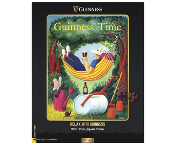 Relax with Guiness 1000 piece puzzle