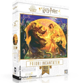 New York Puzzle Company Priori Incanatem Harry Potter 1000 piece  puzzle