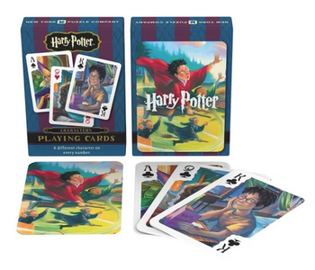 Harry Potter Characters Playing Card