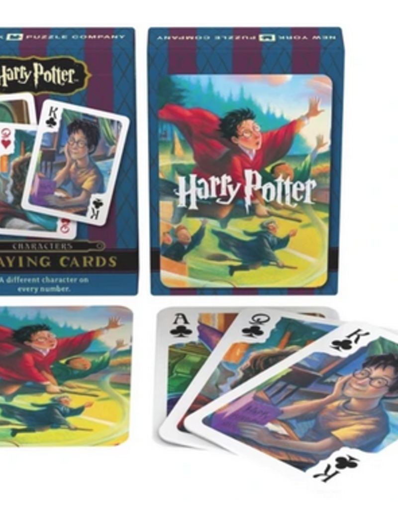 New York Puzzle Company Harry Potter Characters Playing Card