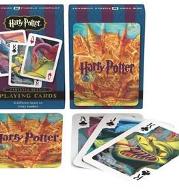 New York Puzzle Company Harry Potter Beasts Playing Cards