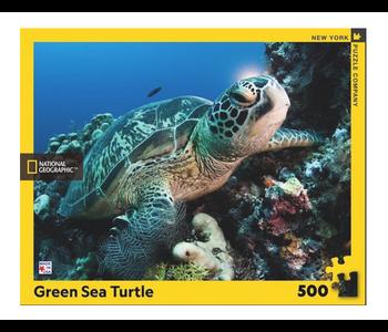 Green Sea Turtle 500 piece puzzle