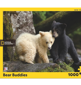 New York Puzzle Company Bear Buddies 1000 piece puzzle