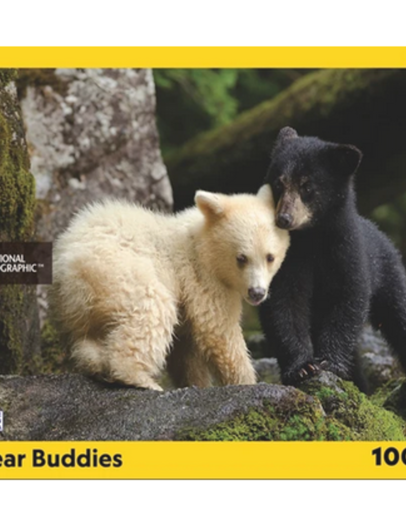 New York Puzzle Company Bear Buddies 1000 piece puzzle
