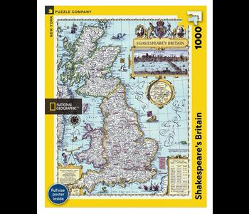 Shakespeare's Britain 1000 piece puzzle