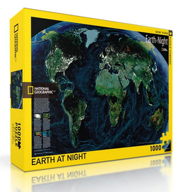 New York Puzzle Company Earth At Night 1000 pice puzzle