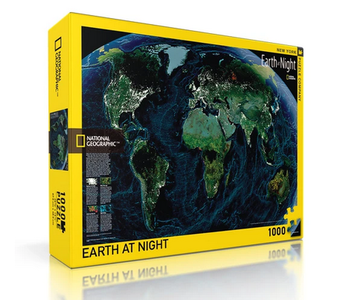 Earth At Night 1000 pice puzzle