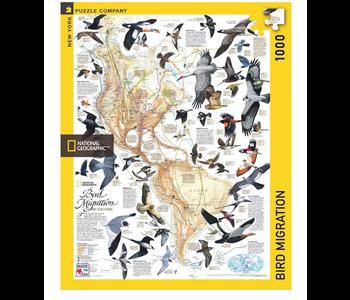 Bird Migration 1000 piece puzzle