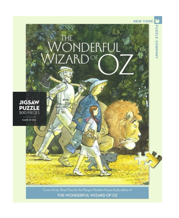 Wizard Of Oz's 500 pice puzzle
