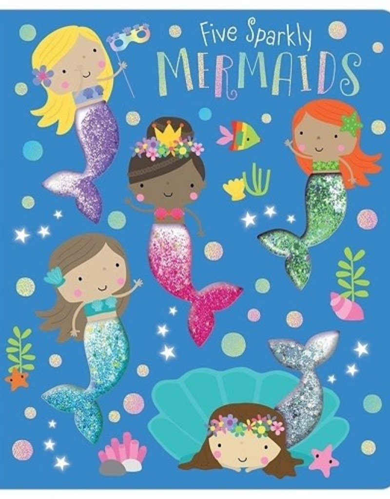 Make Believe Ideas Five Sparkly Mermaids