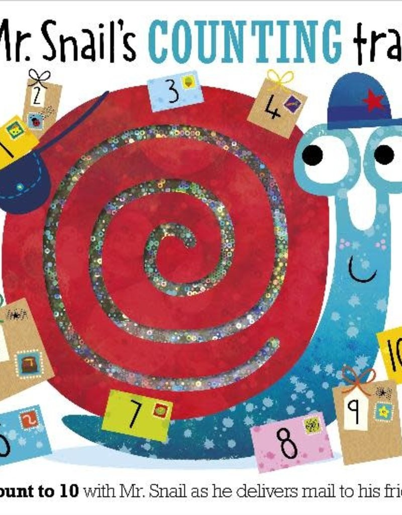 Make Believe Ideas Mr Snail's Counting Trails